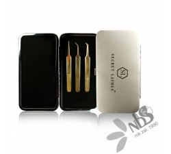 Secret Lashes Zestaw penset White Box