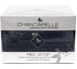 Chantarelle Red Stop Couperose PHA Acid Day Cream SPF25 UVA/UVB Couperose Skin Anti-Redness 100 ml