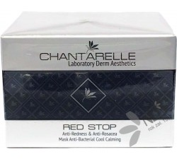 Chantarelle Red Stop Anti-Redness & Anti-Rosacea Mask Anti-Bacterial Cool Calming 150 ml