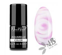 NeoNail Lakier Hybrydowy Aquarelle Pink 6 ml