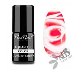 NeoNail Lakier Hybrydowy Aquarelle Ruby 6 ml