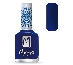 Moyra Lakier do stempli 05 Blue 12 ml