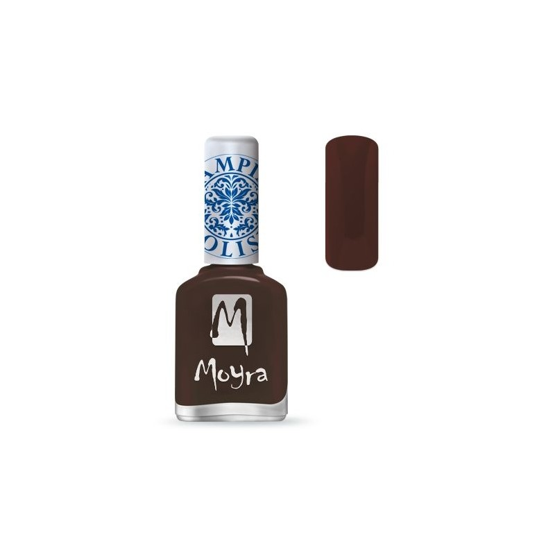 Moyra Lakier do stempli 13 Dark Brown 12 ml