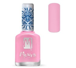 Moyra Lakier do stempli 19 Light Pink 12 ml