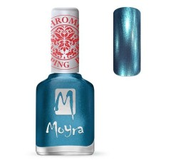 Moyra Lakier do stempli 26 Chrome Blue 12 ml