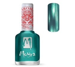 Moyra Lakier do stempli 27 Chrome Green 12 ml