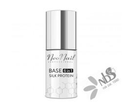 NeoNail Lakier Hybrydowy Base 6in1 Silk Protein 7,2 ml