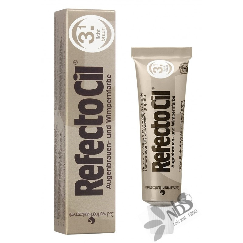 Henna RefectoCil brązowa - jasna 3.1 15 ml