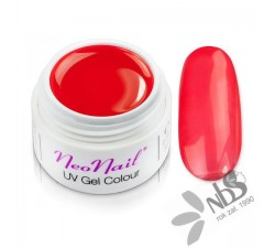 NeoNail Żel Kolorowy Glass Clared Red 5 ml