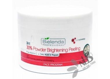 Bielenda 3w1 30% Pudrowy peeling rozjaśniający 100g