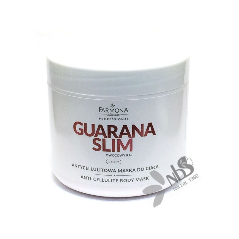 Farmona Guarana Slim Antycellulitowa maska do ciała 500 ml